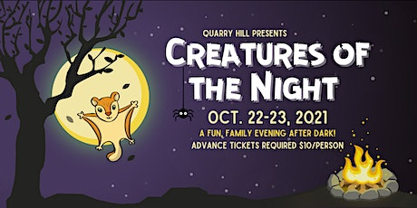 Creatures of the Night **EVENT IS SOLD OUT tickets