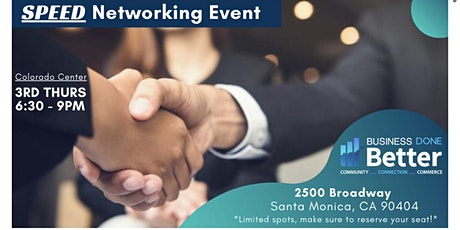Business Done Better Speed Networking Event tickets