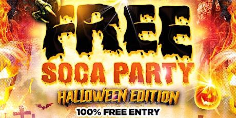 Free Soca Party - Halloween Edition tickets