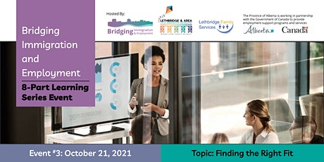 Finding the Right Fit (For Immigrant Job Seekers) tickets