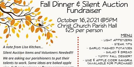 Christ Church Dinner and Silent Auction Fundraiser tickets