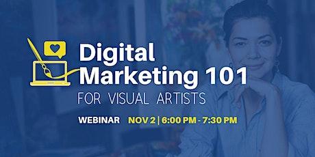 Digital Marketing 101: For Visual Artists tickets