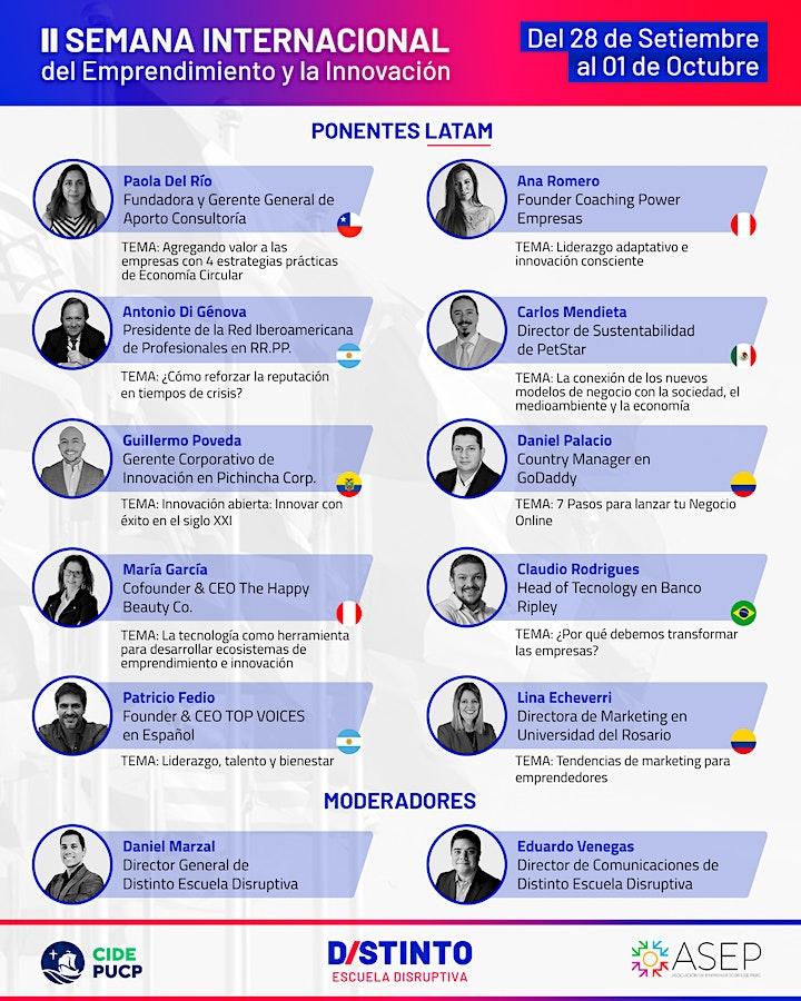 Imagen de Segunda Edición Semana Internacional del Emprendimiento y la Innovación