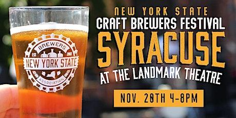 8th Annual New York Craft Brewers Festival - Syracuse tickets