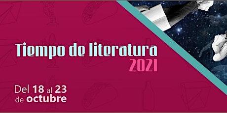 """Tiempo de Literatura   Charla """"Jóvenes narradoras mexicanas"""" boletos"""