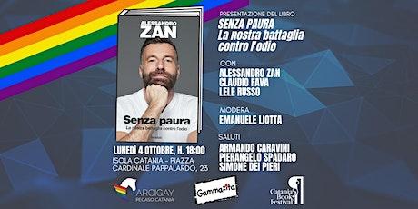 """Presentazione del libro """"Senza Paura"""" di Alessandro Zan biglietti"""