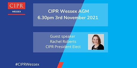 CIPR Wessex AGM tickets