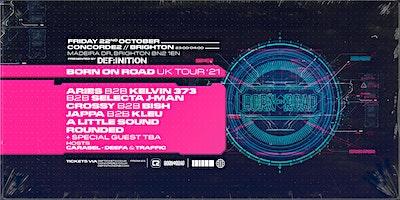 Born On Road : Brighton Poster