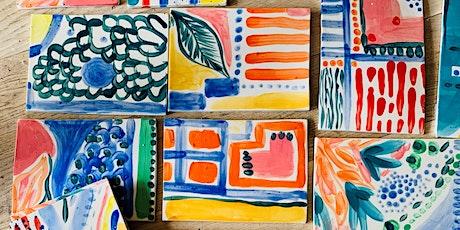 Ceramic Painting Class tickets