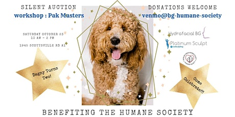 Save the Date for Dagny -FREE Birthday Party & BG Humane Society Fundraiser tickets