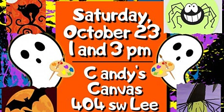 Kids Halloween Paint and Treat 3pm  session tickets
