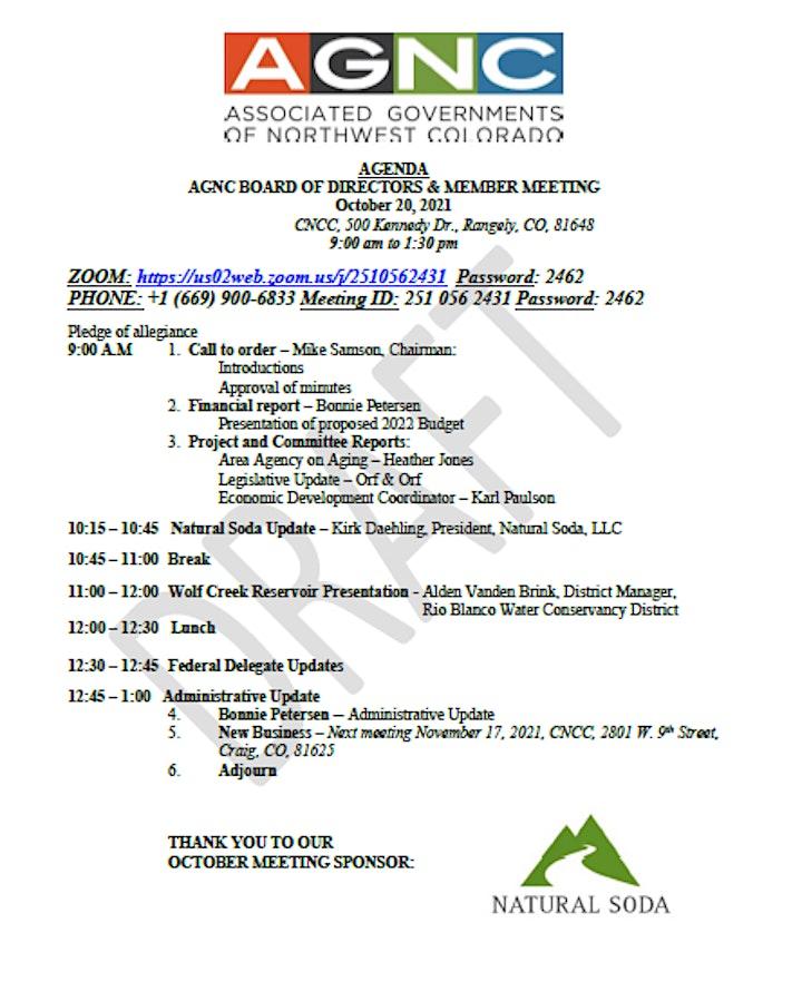 AGNC October 2021 Board Meeting image