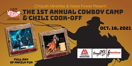 1st Annual Cowboy Camp and Chili Cook-off tickets