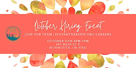 PCL's October Hiring Event tickets