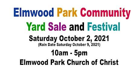 Elmwood Park Community Yard Sale and Festival tickets