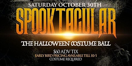 10/30 SPOOKTACULAR - A Halloween Costume Yacht party @ Hornblower Infinity tickets