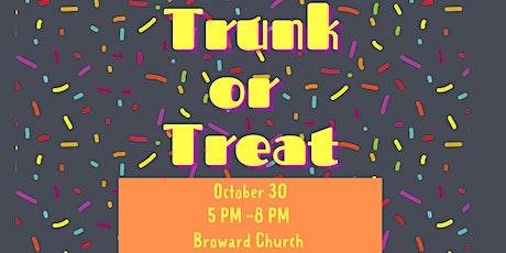 Trunk or Treat  Broward Church tickets