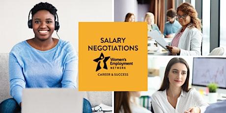 Salary Negotiations tickets