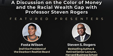 The Color of Money: Banks & the Racial Wealth Gap Discussion!! tickets