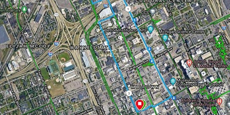 RUNdetroit's Guided Midtown Run Tour '21 tickets