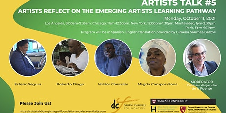 Artists Talk #5   Artists Reflect on the Emerging Artists Learning Pathway tickets