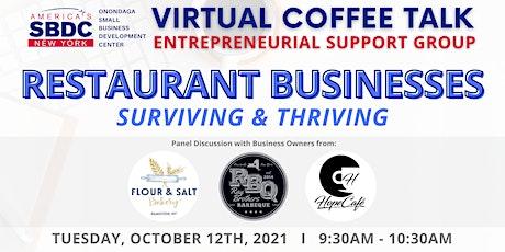 October SBDC Virtual Coffee Talk tickets
