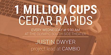 1 Million Cups Cedar Rapids: October 27 tickets