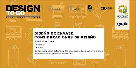 Diseño de Envase: Consideraciones de Diseño boletos