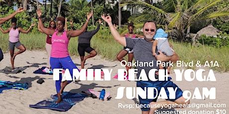 Family Beach Yoga & Meditation tickets