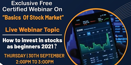 How to invest in Stock Market as a beginner?⁉️ tickets