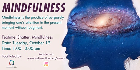 Teatime Chatter: Mindfulness tickets