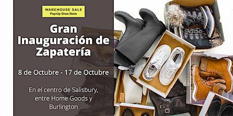 ¡Gran inauguración de zapatería emergente! Salisbury, MD tickets