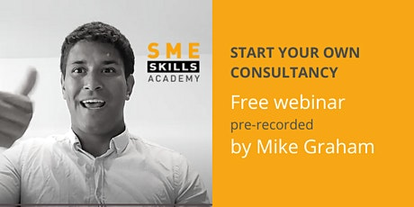 Start your own thriving consultancy business tickets