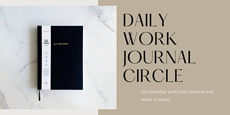 Daily Work Journal Circle tickets