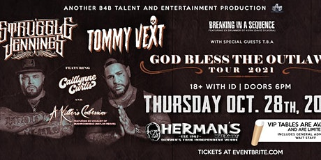 Tommy Vext Of Bad Wolves with Struggle Jennings and more tickets