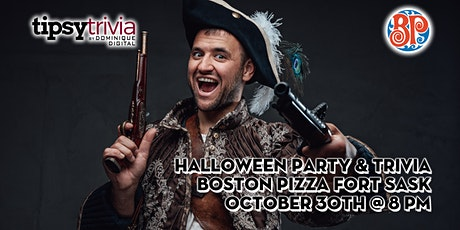 Halloween Party & Trivia - Oct 30th 8:00pm - Boston Pizza Fort Sask tickets