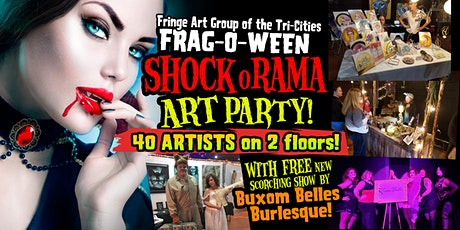 FRAGOWEEN - FREE Halloween Art Show, Music and Burlesque tickets