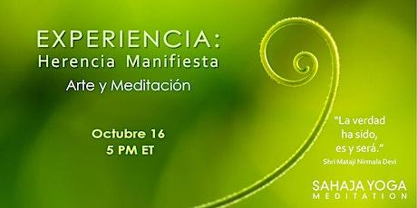 Experiencia: Herencia Manifiesta boletos