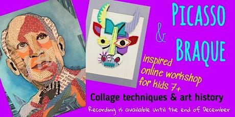 Picasso & Braque - Art Webinar for Kids 7+ tickets