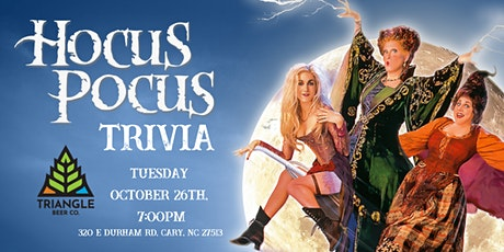 Hocus Pocus Trivia at Triangle Beer Co. tickets