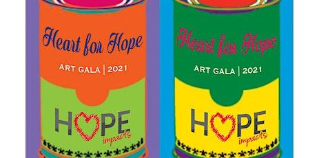 HeArt for Hope 2021 Art Gala tickets