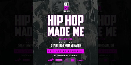 Hip Hop Made Me - 90's Edition tickets