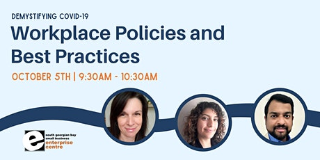 Demystifying Covid-19 Workplace Policies and Best Practices tickets
