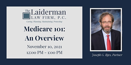 Medicare 101: An Overview tickets