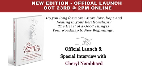 The Heart of a Good Thing - New Edition - Offical Launch tickets