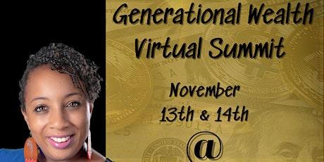 Generational Wealth Summit tickets