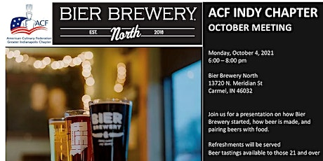 ACF Indy October General Meeting tickets