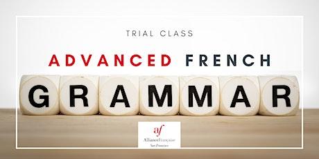 Trial Class - Advanced Grammar tickets