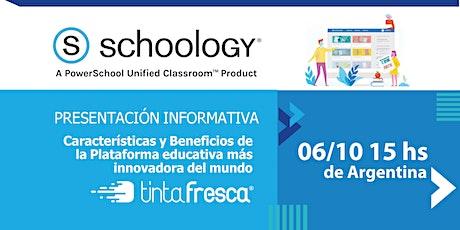 Schoology: La Plataforma educativa más innovadora del mundo. entradas