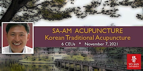 Sa-Am Acupuncture (Korean Traditional Acupuncture): Online Webinar tickets